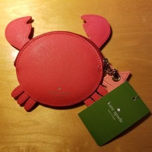 kate spade Accessories - Kate Spade crab coin purse